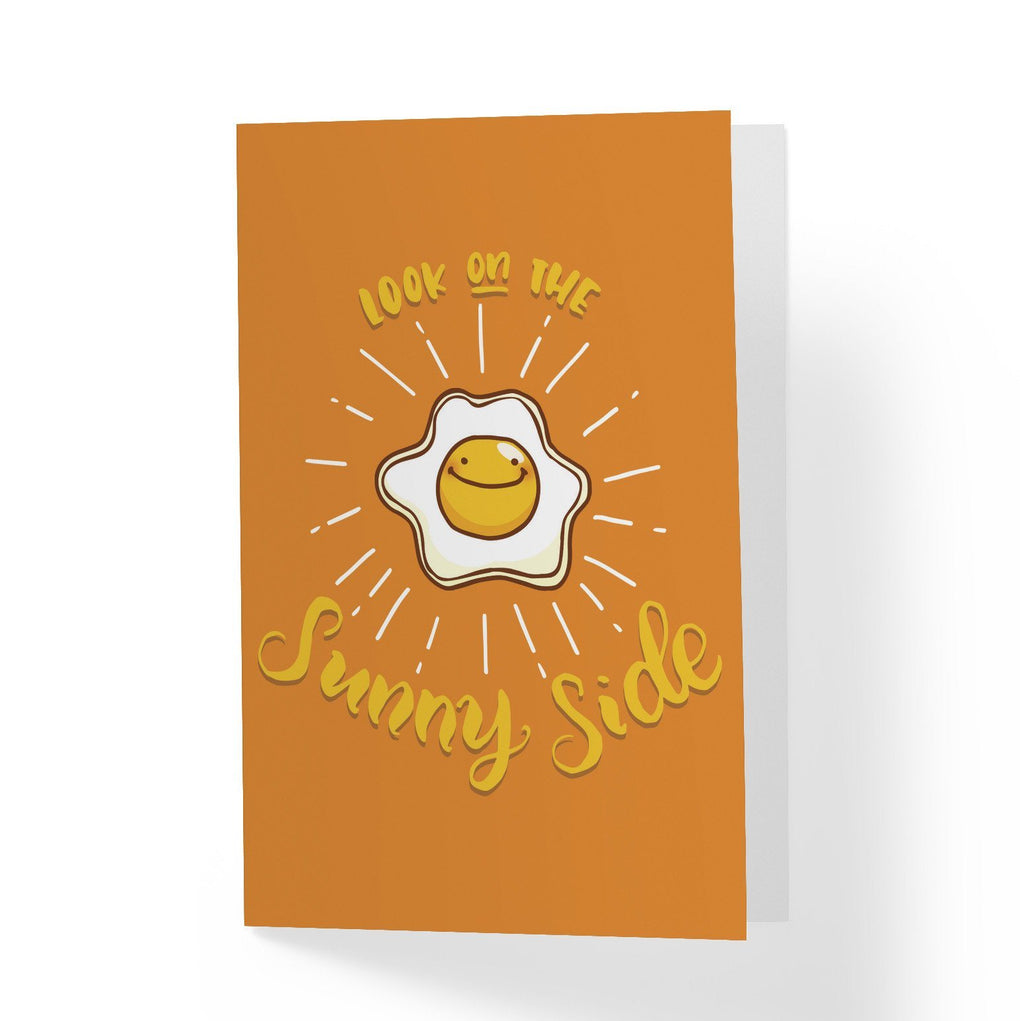 Sunny Side Greeting Card Encouragement Cards A Wild Exploration