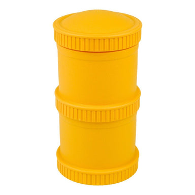 Sunny Yellow Snack Stack Set Children Cutlery Re-Play
