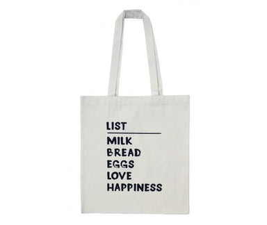 Supa List Egg Bread Milk Tote Bag Tote Bags Fevrier Designs