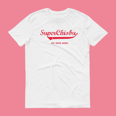 Super Chiobu Crew Neck S-Sleeve T-shirt (Pre-Order) - Local T-shirts - Wet Tee Shirt - Naiise