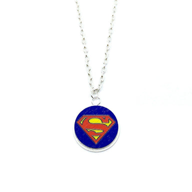Superman Wood Pendant Necklace - Necklaces - Paperdaise Accessories - Naiise