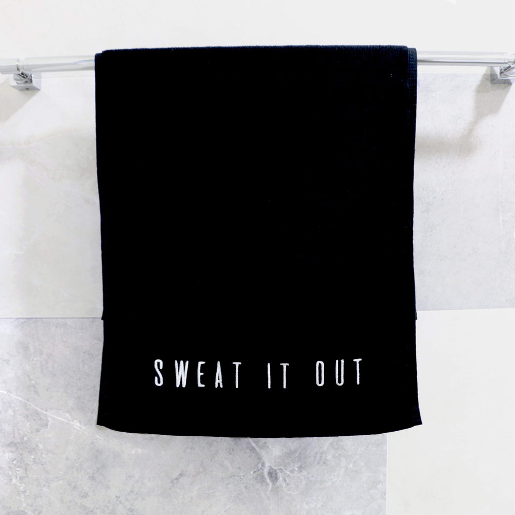 Sweat It Out Gym Towel Gym Towels Metanoia Lifestyle