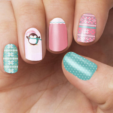 Sweater Weather Nail Wrap Nail Wraps Personail