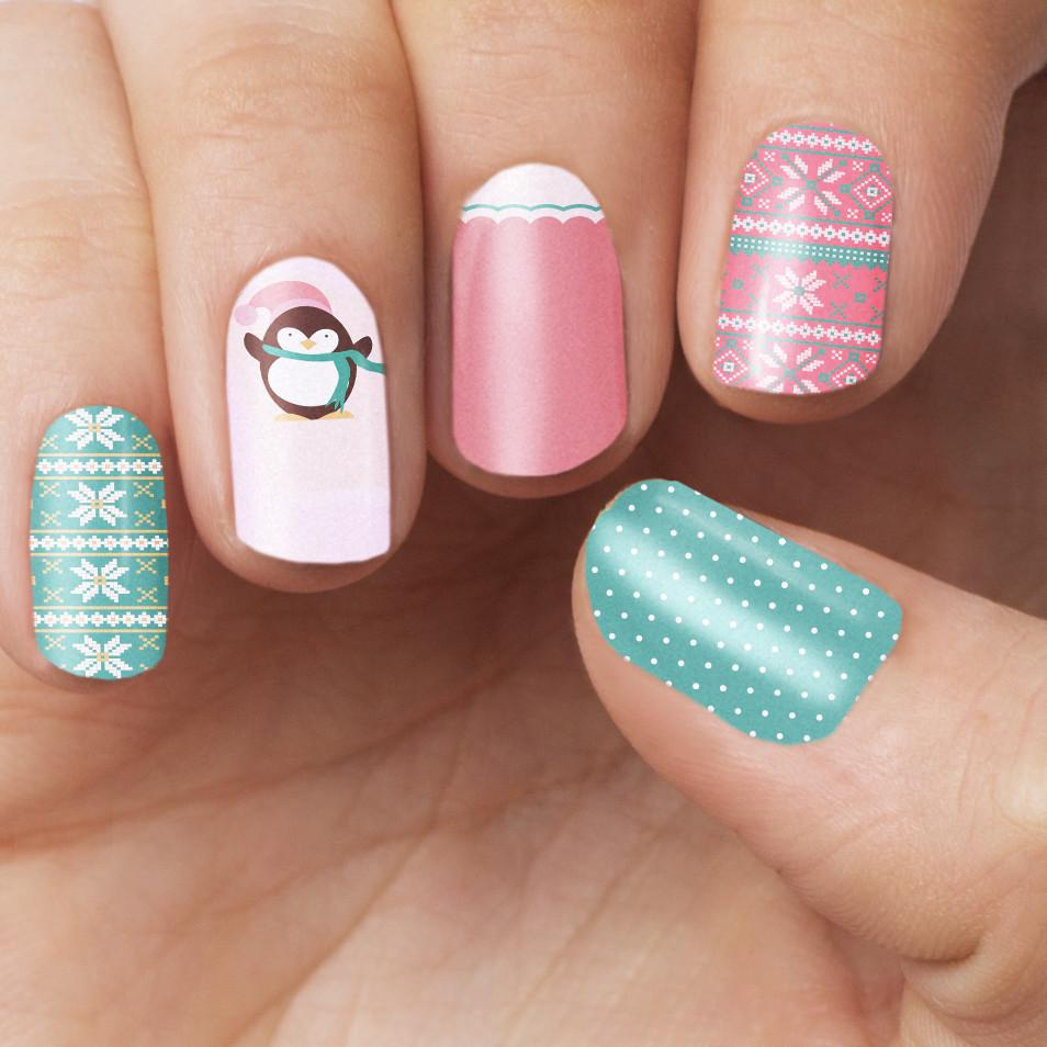 Sweater Weather Nail Wrap - Nail Wraps - Personail - Naiise