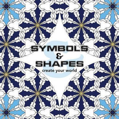 Symbols & Shapes - Create Your World (Mini) - Adult Colouring Books - Tan Yang International - Naiise