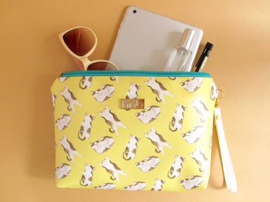 Syrup Cat Clutch - Clutches - hopnbounce - Naiise