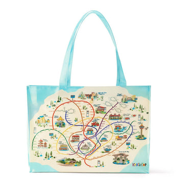 System Map Tote Bag - Local Tote Bags - Knackstop - Naiise