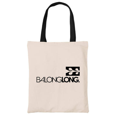 Balonglong Cotton Tote Bag Local Tote Bags Wet Tee Shirt / Uncle Ahn T / Heng Tee Shirt / KaoBeiKing Canvas + Heavy Duty Black Handle 44cm x 32cm