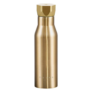 Ted Baker - Water Bottle Hexagonal Lid Pale Gold - Water Bottles - The Planet Collection - Naiise
