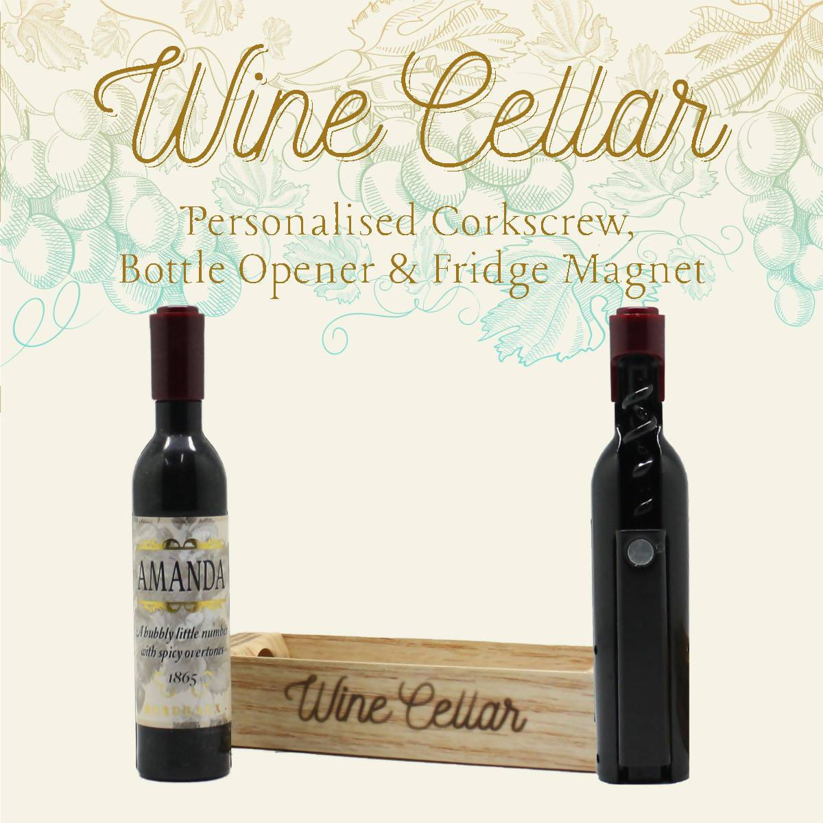 WINE CELLAR - For Wine Lover : Amanda - Bottle Openers - La Belle Collection - Naiise