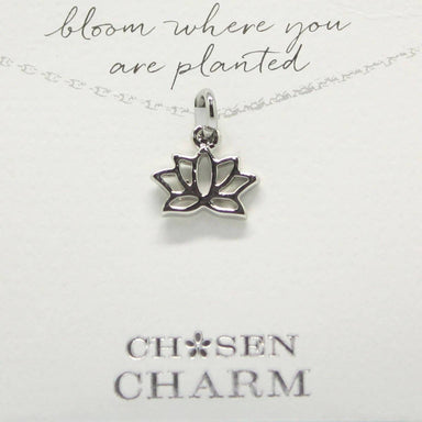 CHOSEN CHARMS - For Special One : Lotus Flower - Charms - La Belle Collection - Naiise