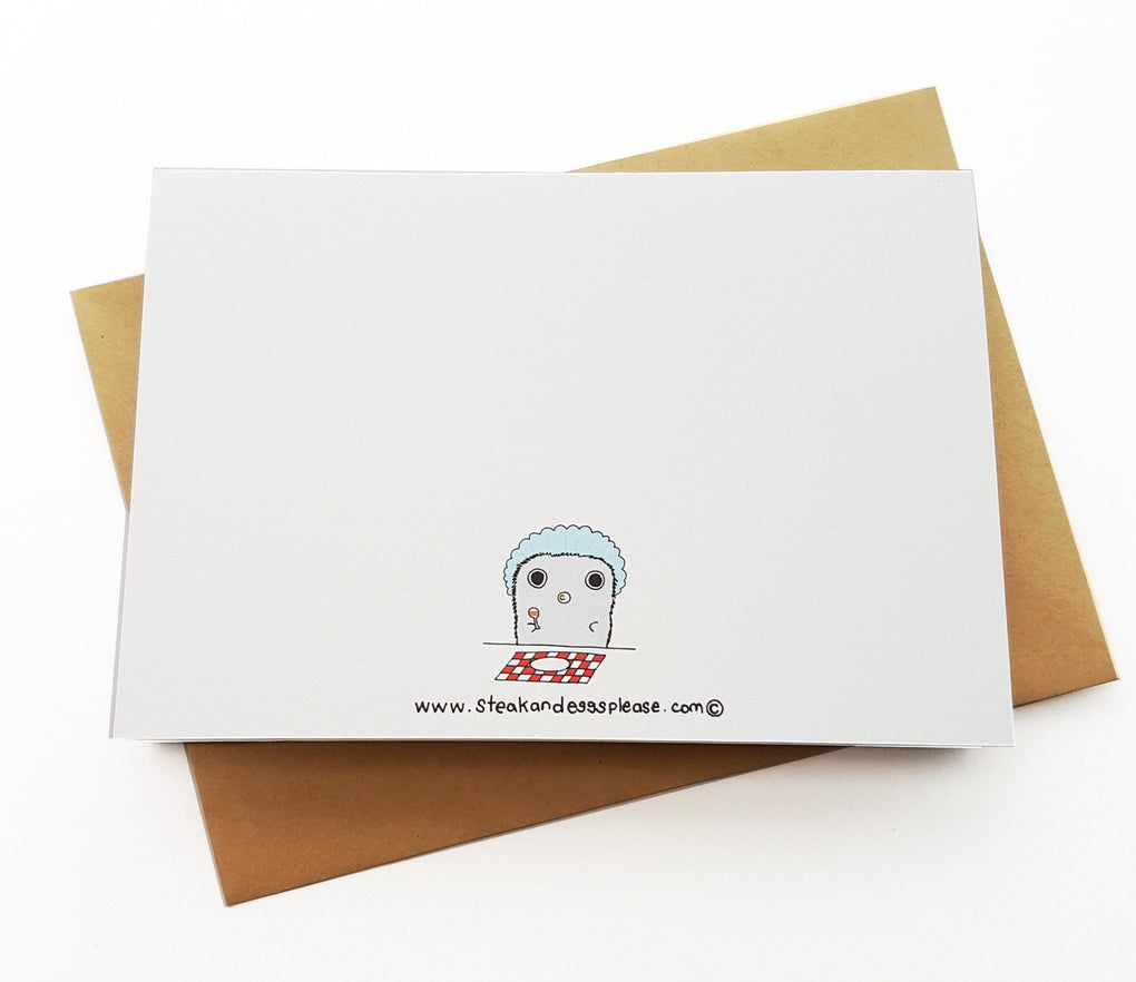 Tapirs – Hello Baby! Baby Milestone Cards Steak & Eggs Please
