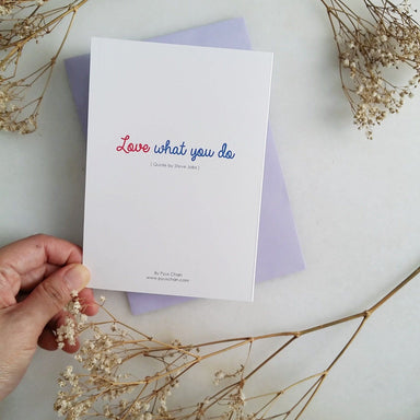 TDGHS Greeting Card - Love What You Do Generic Greeting Cards TDGHS