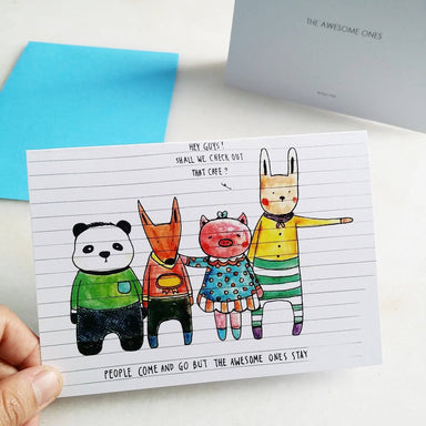 TDGHS Greeting Card - The Awesome Ones Generic Greeting Cards TDGHS