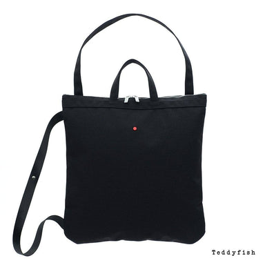 Teddyfish 3 Way Tote Tote Bags Teddyfish Black
