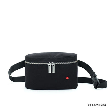 Teddyfish Fanny Pack Fanny Packs Teddyfish Black