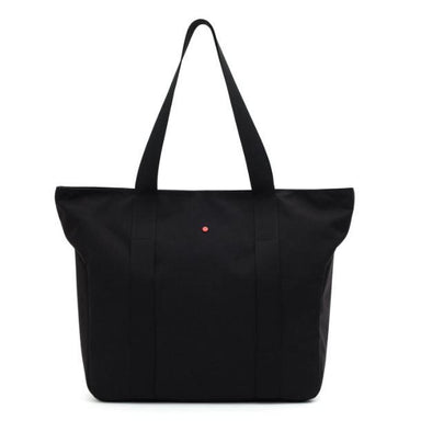 Teddyfish Shoulder Tote Tote Bags Teddyfish Black