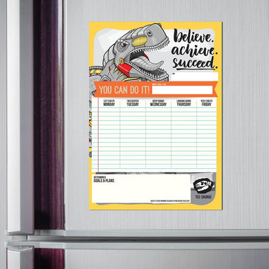 Tee-Saurus Magnet Weekly Planner Local Stationery Tee-saurus