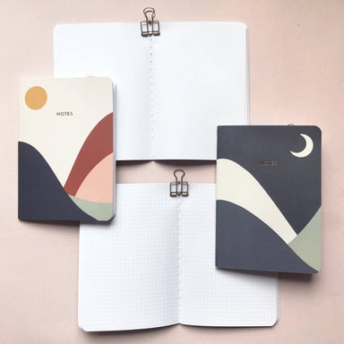 Terra Collection | A6 Pocket Notebooks (Set of 2) - Notebooks - Papercranes Design - Naiise