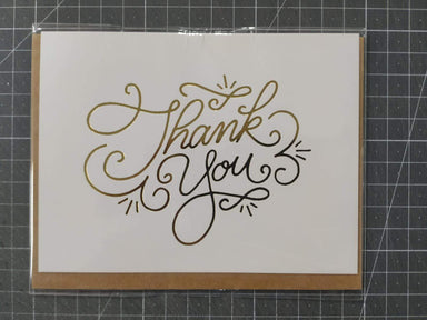 Thank you Cursif Card Thank You Cards Fevrier Designs