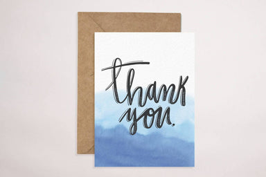 Thank You(Waves) Card Thank You Cards YOUNIVERSE DESIGN