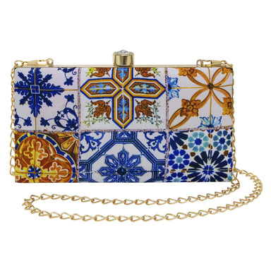 The Chinatown Blue Rectangular Clutch Local Clutches Photo Phactory