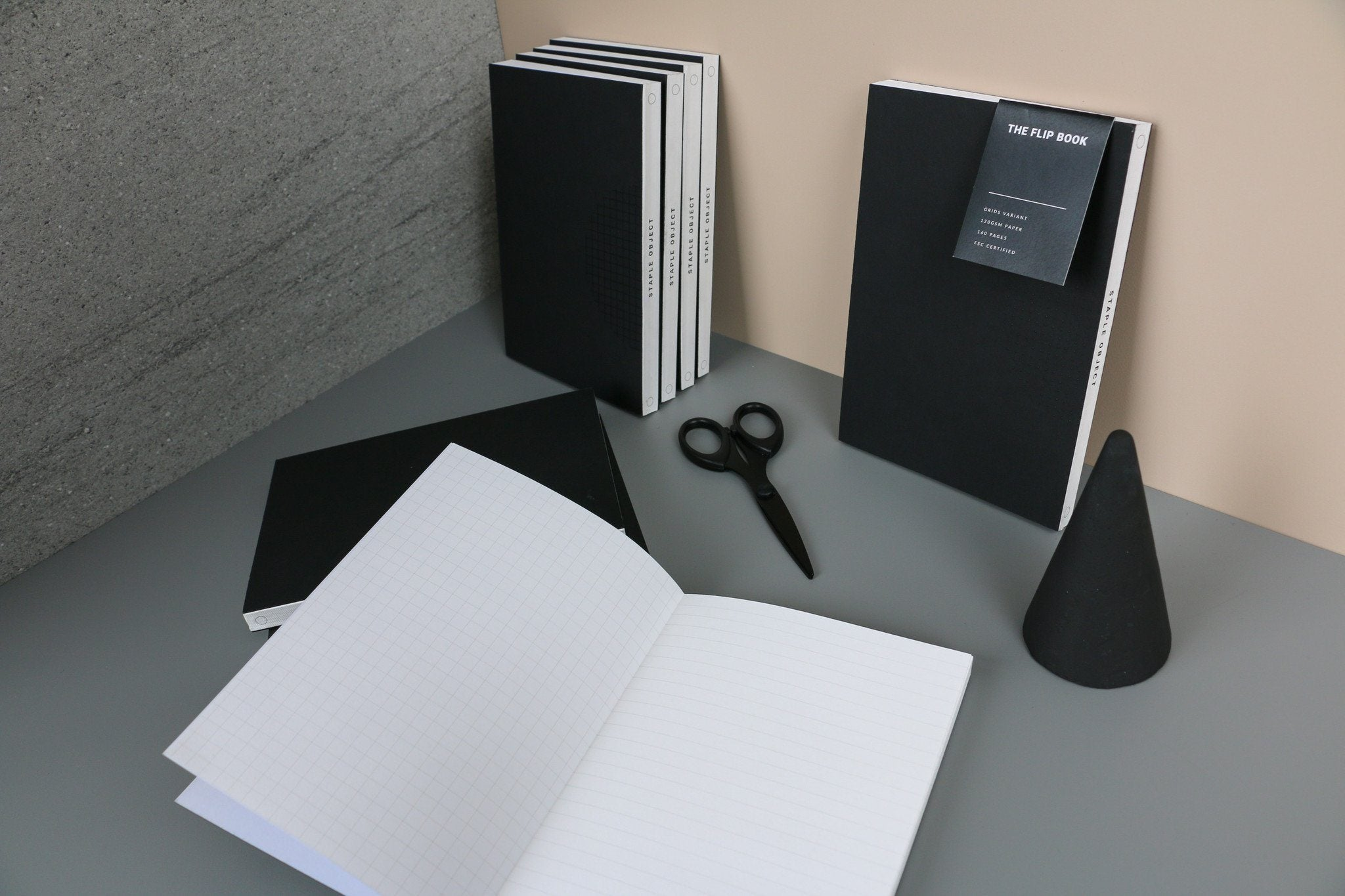 The Flip Book - Dot/Dot - Notebooks - Staple Object - Naiise