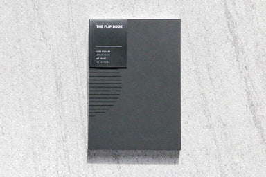 The Flip Book - Lined/Lined - Notebooks - Staple Object - Naiise