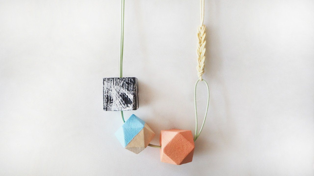 THE GEOMETRIC SERIES - EMILY - Necklaces - UNIT515 - Naiise