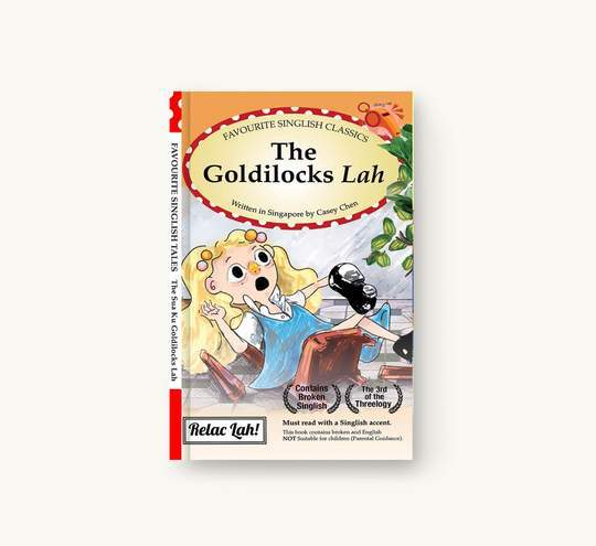 The goldilocks lah Local Books Singapulah
