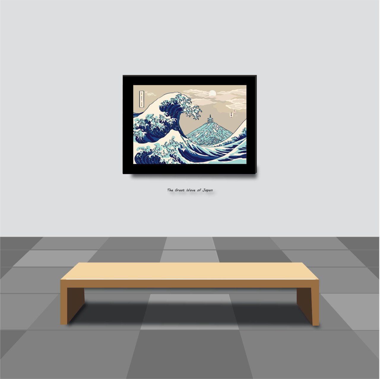 The Great Wave of Japan Print Prints Chaps v8.2