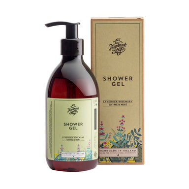 The Handmade Soap Company - Lavender, Rosemary, Thyme & Mint Shower Gel - Shower Gel - A GOOD POTION COMPANY - Naiise