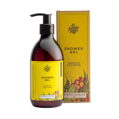 The Handmade Soap Company - Lemongrass & Cedarwood Shower Gel - Shower Gel - A GOOD POTION COMPANY - Naiise
