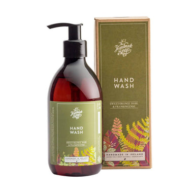 The Handmade Soap Company - Sweet Orange Basil Frankincense Hand Wash Hand Lotions A GOOD POTION COMPANY