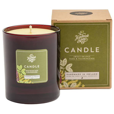 The Handmade Soap Company - Sweet Orange & Basil Soy Candle Scented Candles A GOOD POTION COMPANY