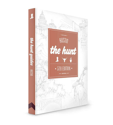 The HUNT Austin Guide - Travel Guides - Gatehouse Publishing - Naiise