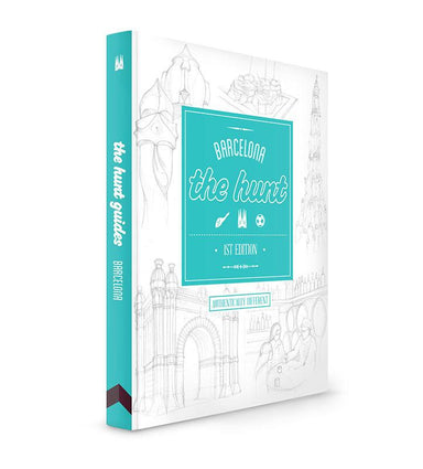 The HUNT Barcelona Guide - Travel Guides - Gatehouse Publishing - Naiise