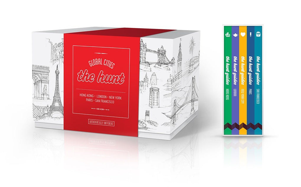 The HUNT Global Cities Boxed Set Travel Guides Gatehouse Publishing