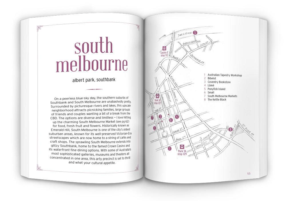 The HUNT Melbourne Guide Travel Guides Gatehouse Publishing
