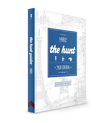 The HUNT Paris Guide - Travel Guides - Gatehouse Publishing - Naiise
