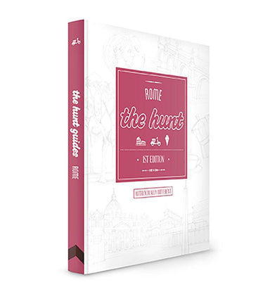 The HUNT Rome Guide - Travel Guides - Gatehouse Publishing - Naiise