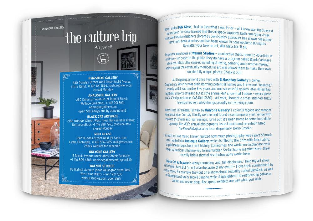 The HUNT Toronto Guide Travel Guides Gatehouse Publishing
