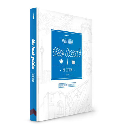The HUNT Toronto Guide - Travel Guides - Gatehouse Publishing - Naiise