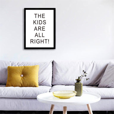 The Kids Are All Right Canvas Canvas Prints Charlie and Skye