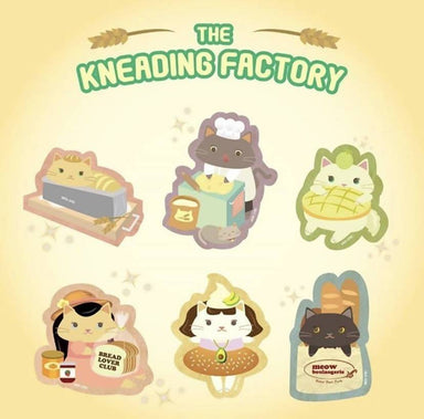 The Kneading Factory Stickers - 6 pcs Sticker Pack - Stickers - Sinful Cuties - Naiise