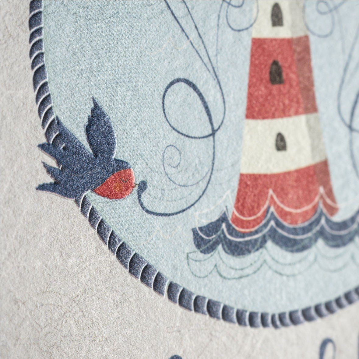 The Lighthouse Greeting Card - Generic Greeting Cards - MULTIFOLIA ATELIER di Rita Girola - Naiise