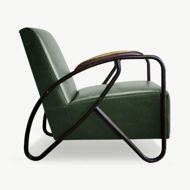 The Maverick Armchair - Hunter Green Seating SCENE SHANG