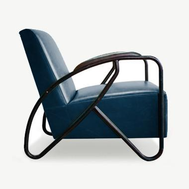The Maverick Armchair - Navy Seating SCENE SHANG