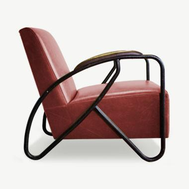 The Maverick Armchair - Oxblood Seating SCENE SHANG