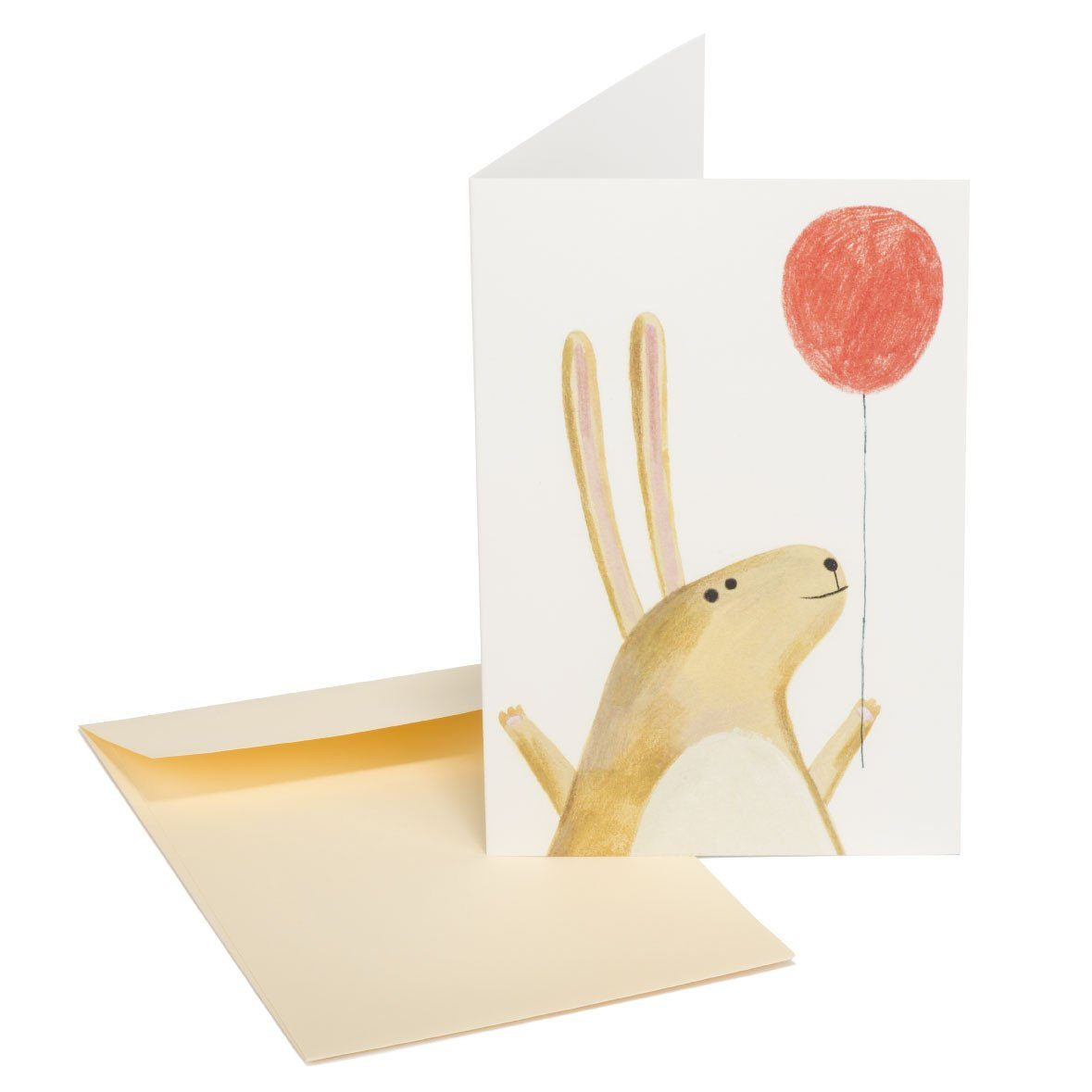 The red balloon Greeting Card - Generic Greeting Cards - MULTIFOLIA ATELIER di Rita Girola - Naiise
